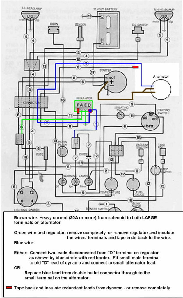 Wiring An Alternator