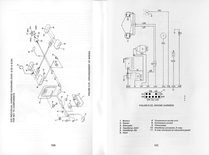 wiring diagrams  885 page 1