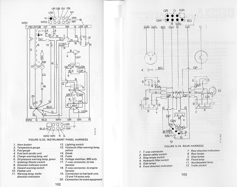 wiring diagrams the david brown tractor club for all wiring  wiring diagrams wiring diagrams the david brown tractor club for all