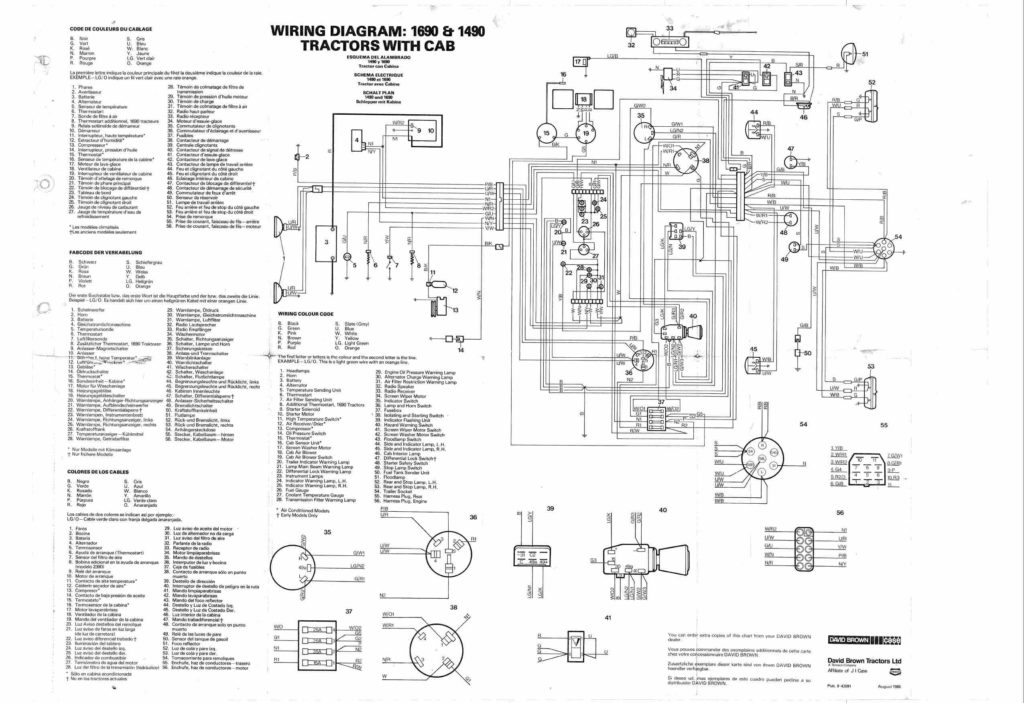 wiring diagrams network wiring diagram case 990 wiring diagram #5